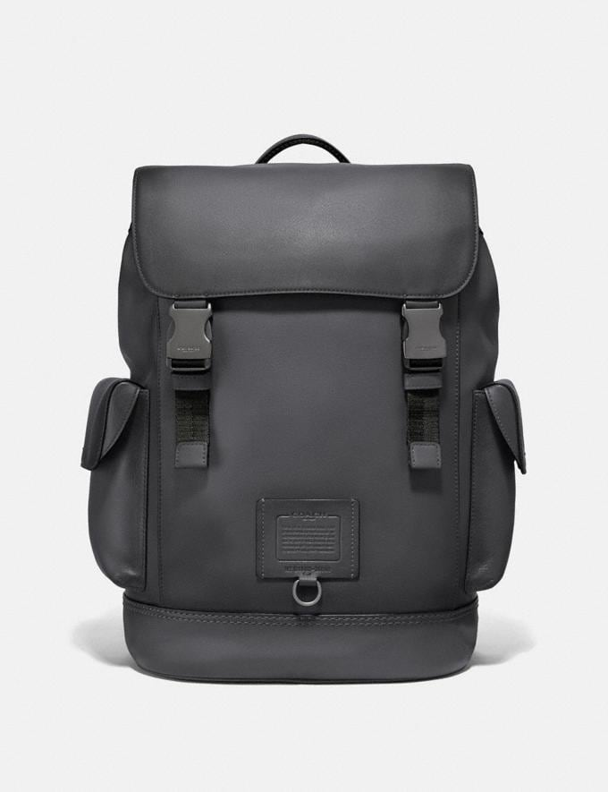 Coach Rivington Backpack Black Copper/Grey SALE Private Event Men's