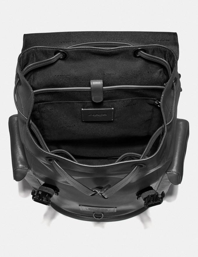 Coach Rivington Backpack Black Copper/Grey SALE Private Event Men's Alternate View 2