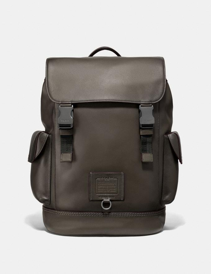 Coach Rivington Backpack Moss/Black Copper Men Bags View All