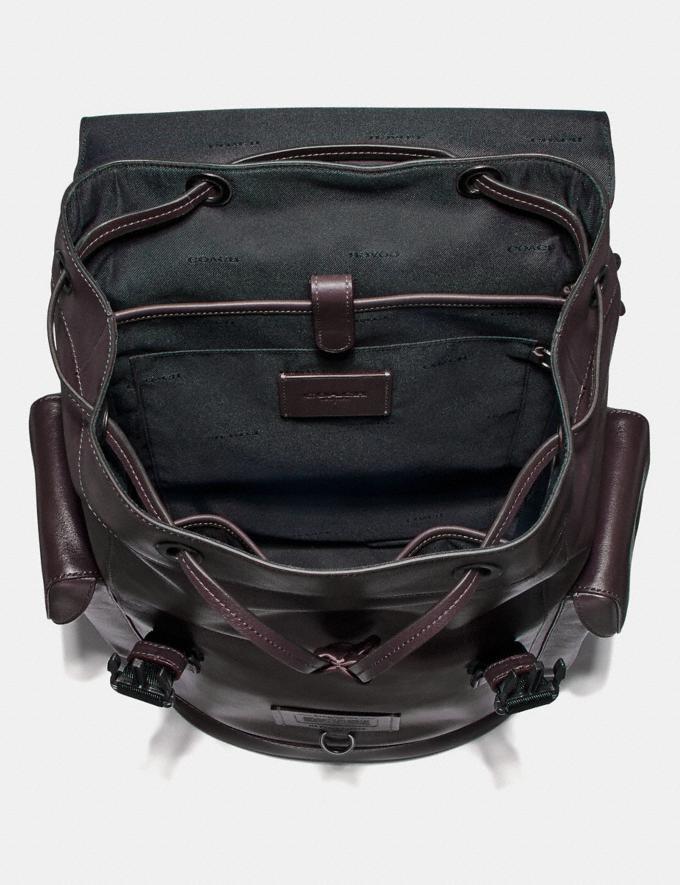 Coach Rivington Backpack Oxblood/Black Copper SALE Men's Sale Alternate View 2