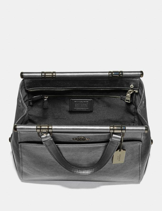 Coach Grace Bag Metallic Graphite/Dark Gunmetal New Featured Online-Only Alternate View 2