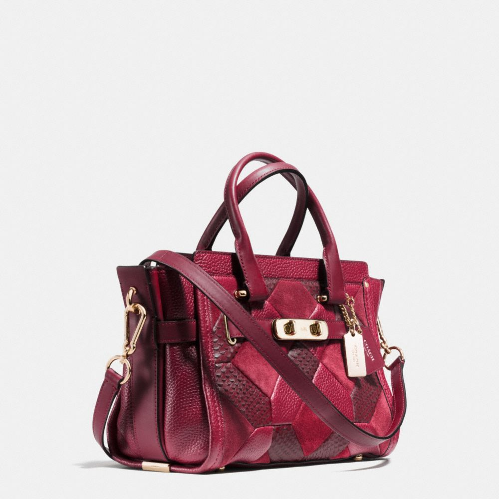 Coach Swagger 27 in Patchwork Leather - Alternate View A2