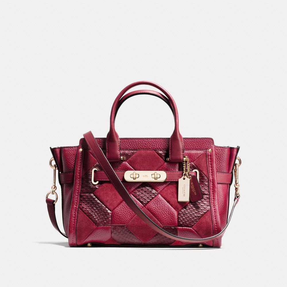 COACH SWAGGER 27 IN PATCHWORK LEATHER