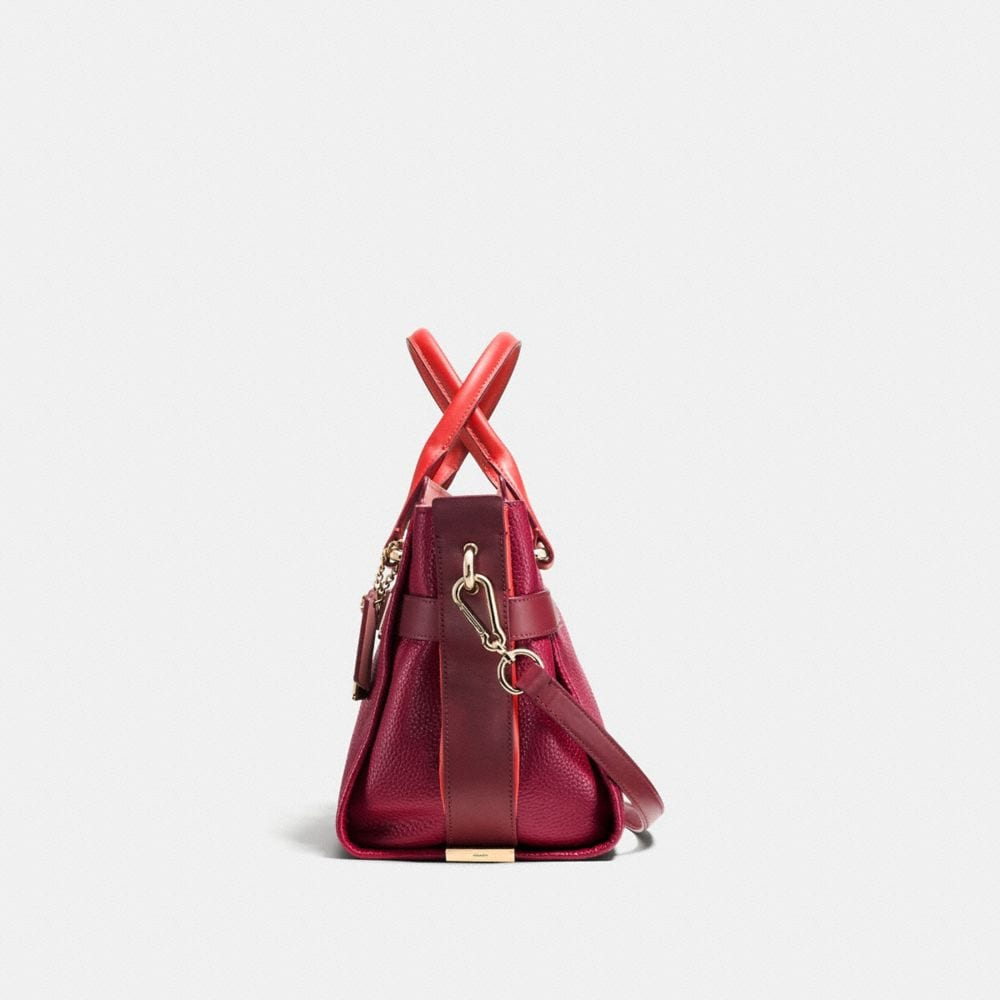 COACH SWAGGER IN COLORBLOCK PEBBLE LEATHER - Autres affichages A1