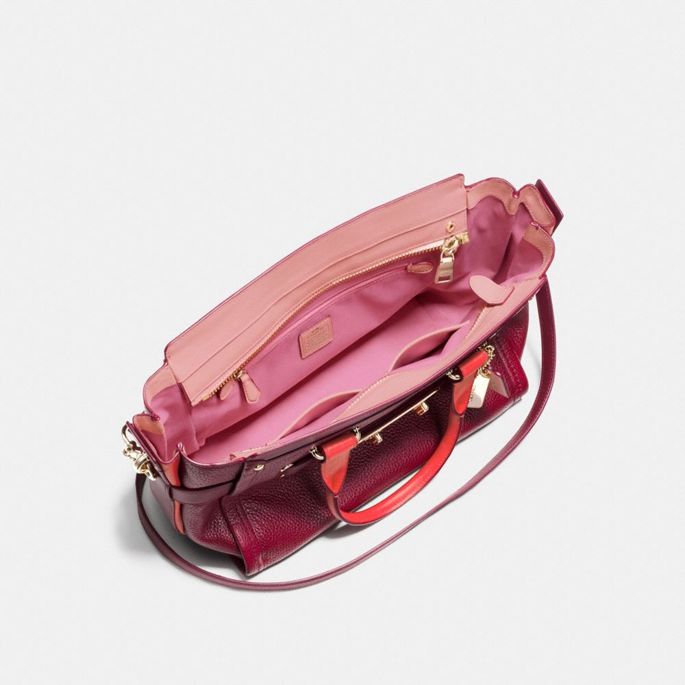 Coach Swagger in Colorblock Pebble Leather - Alternate View A3