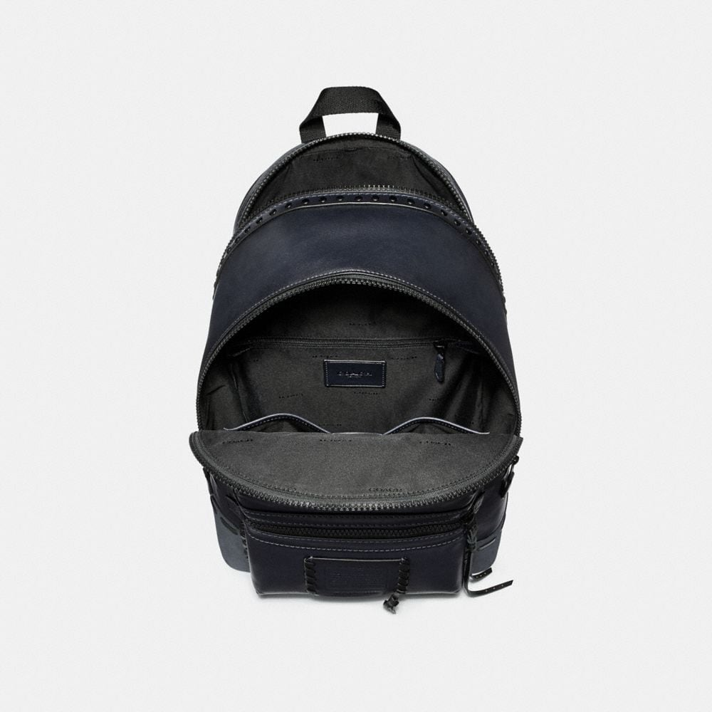 Coach Academy Backpack With Whipstitch Alternate View 2