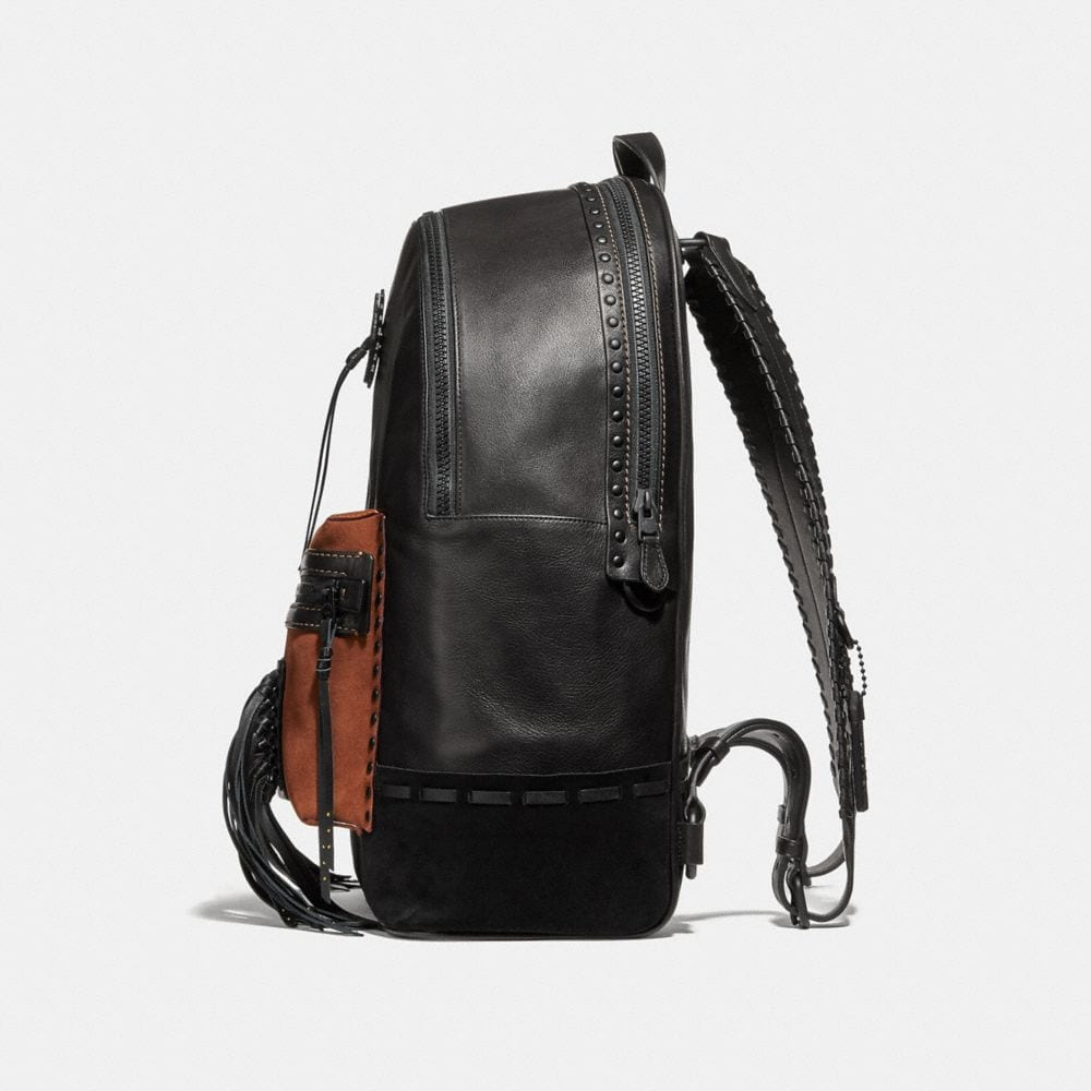 Coach League Backpack With Whipstitch Alternate View 1