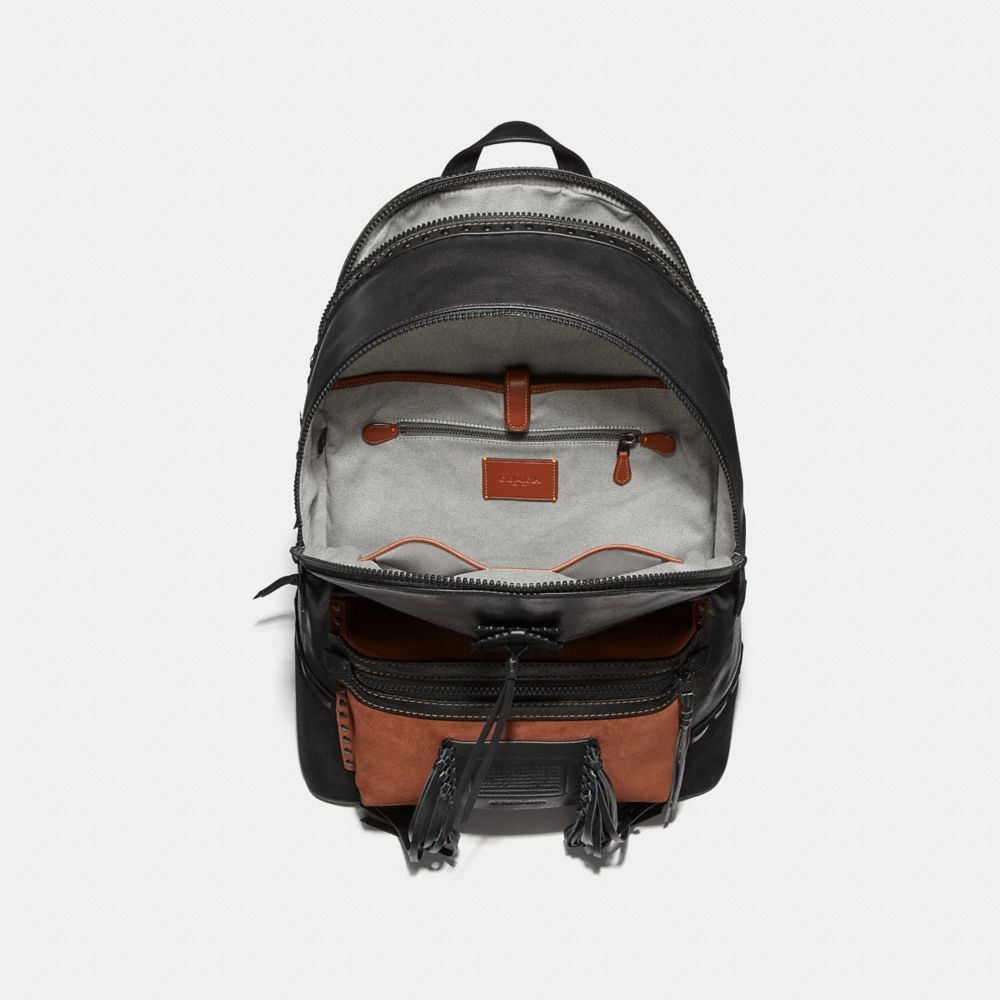 Coach League Backpack With Whipstitch Alternate View 2