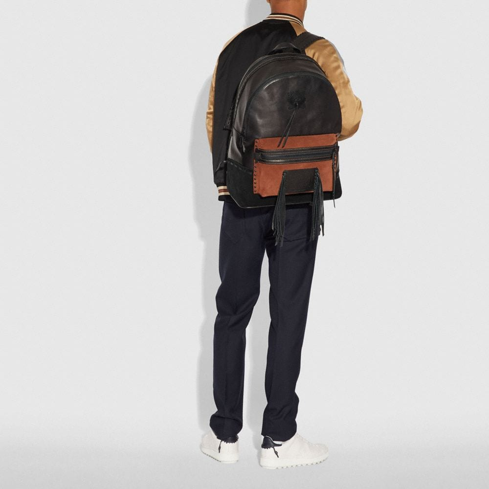 Coach League Backpack With Whipstitch Alternate View 3
