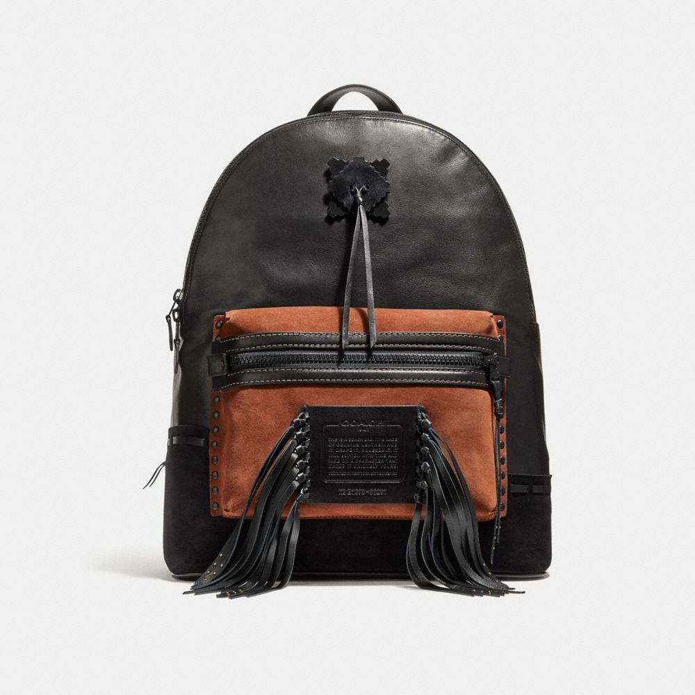 Coach League Backpack With Whipstitch