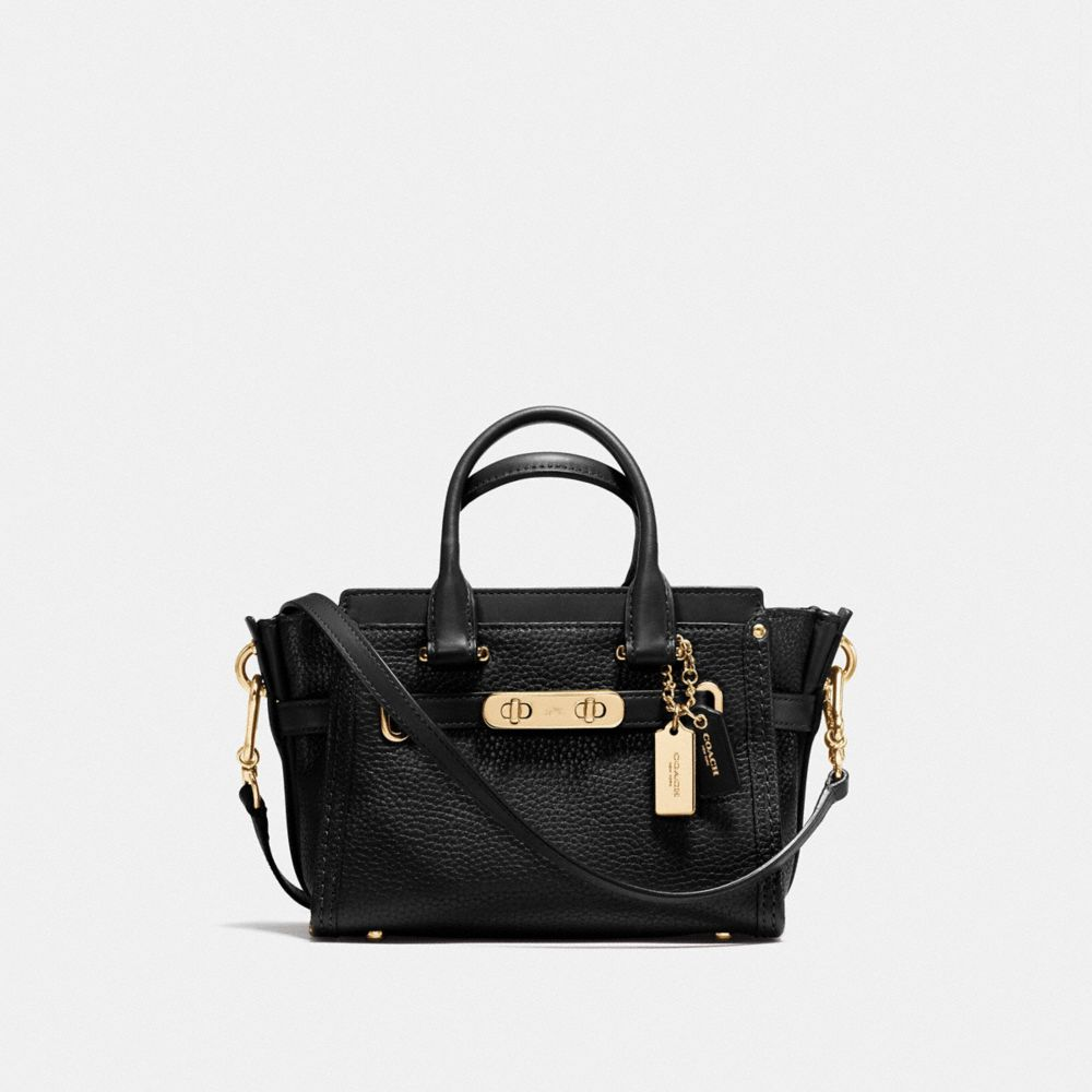 Coach Coach Swagger 20 in Pebble Leather