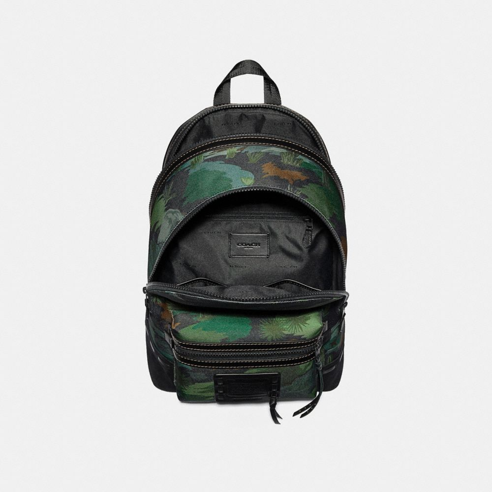 Coach Academy Backpack With Landscape Print Alternate View 2