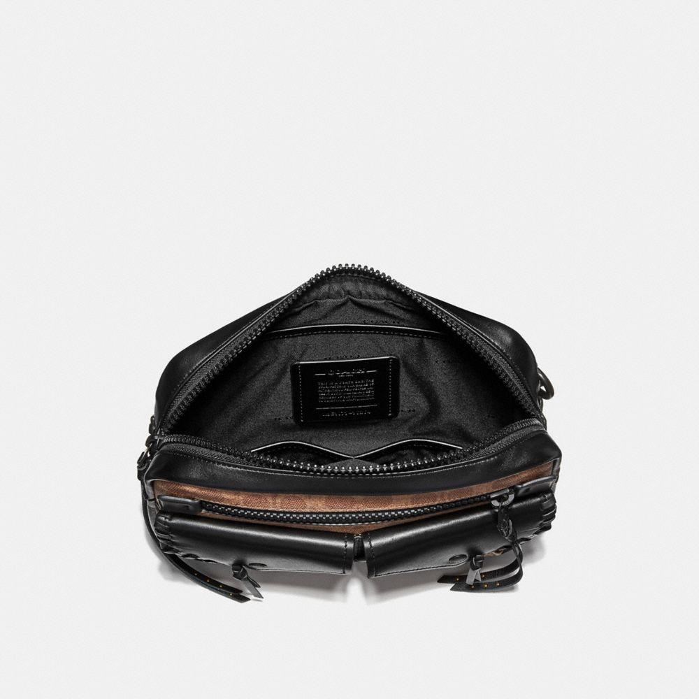 Coach Utility Belt Bag 25 in Signature Canvas Alternate View 2