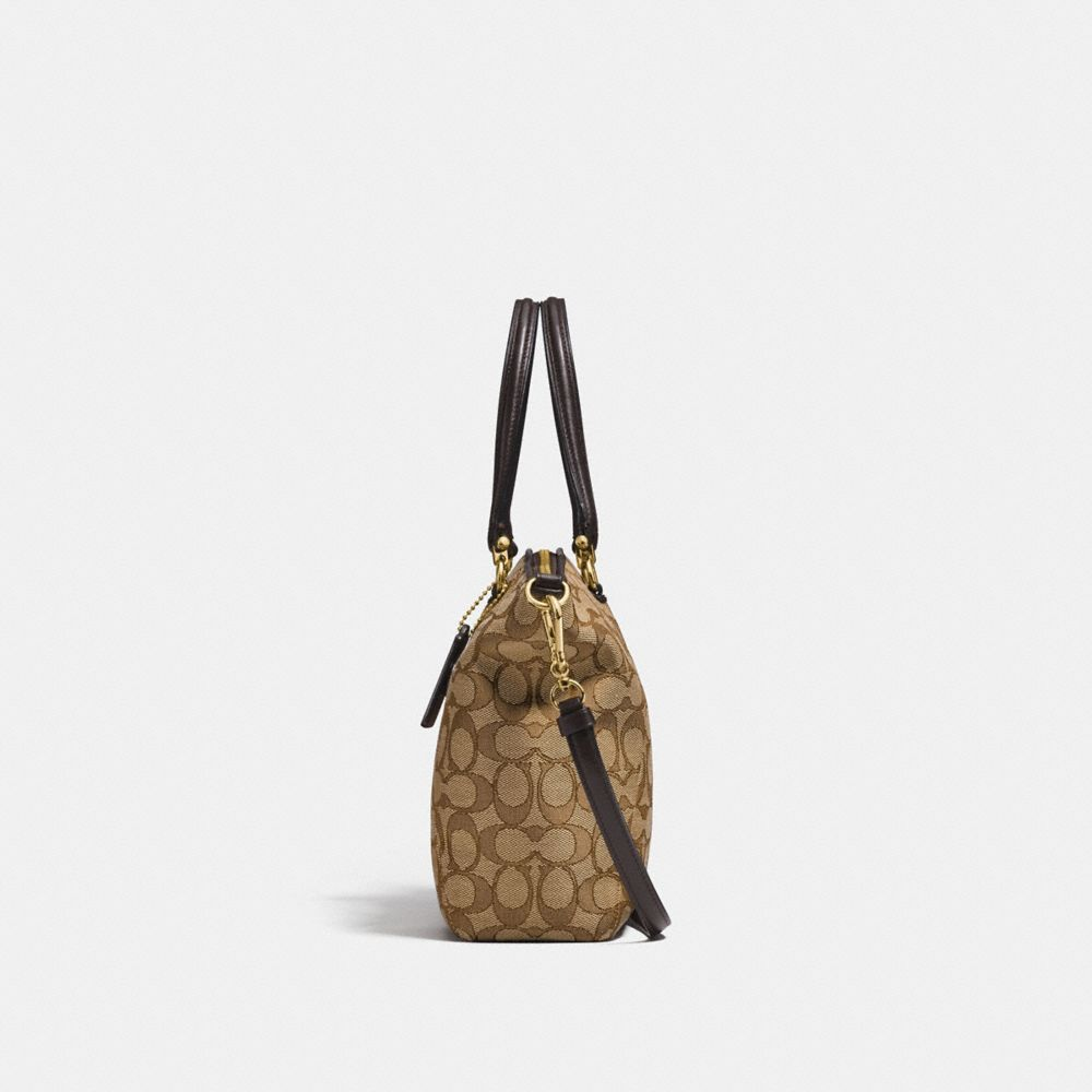 Coach Prairie Satchel in Signature Jacquard Alternate View 1