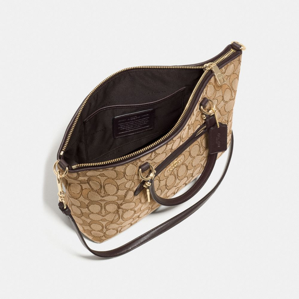 Coach Prairie Satchel in Signature Jacquard Alternate View 2
