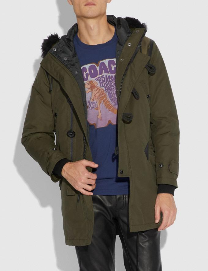 Coach Parka Olive  Alternate View 1