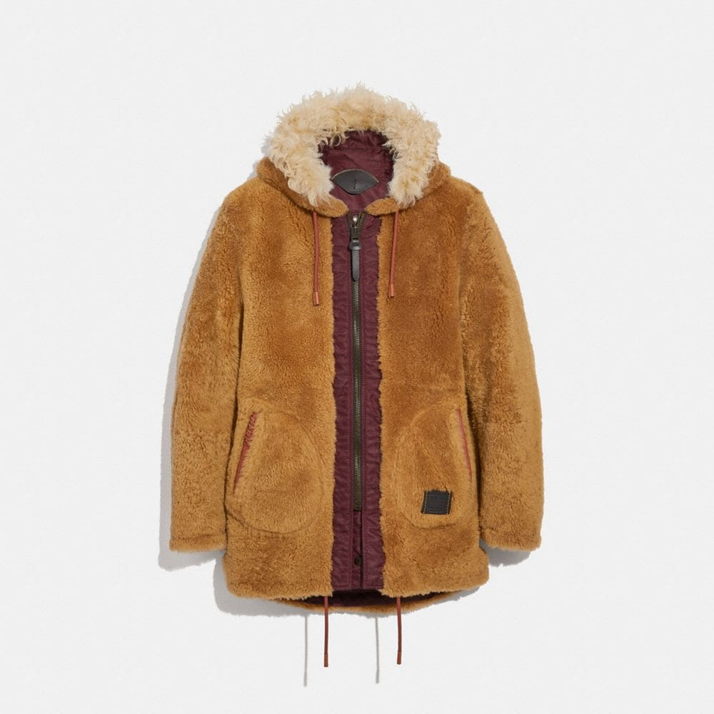 Coach Reversible Western Parka