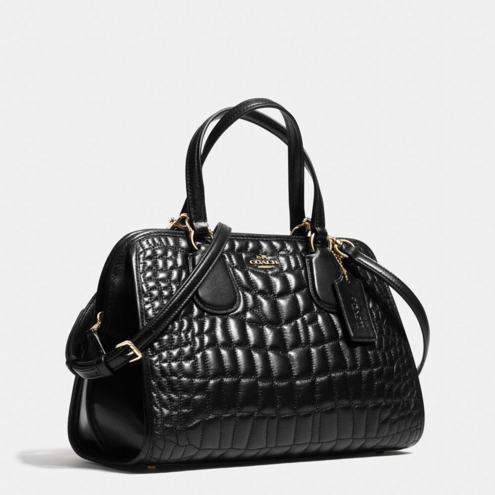NOLITA SATCHEL IN QUILTED CROC LEATHER  - Autres affichages A2