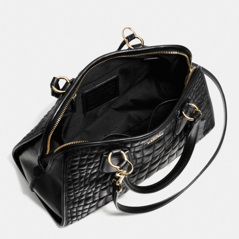 NOLITA SATCHEL IN QUILTED CROC LEATHER  - Autres affichages A3