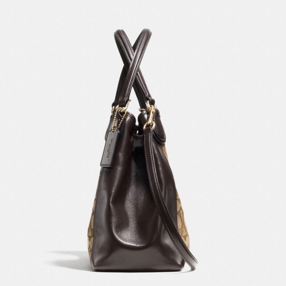 Edie Shoulder Bag 28 in Signature Jacquard - Alternate View A1