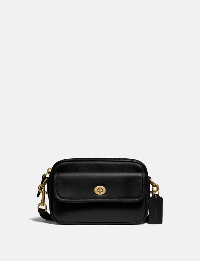 Coach Convertible Waist Pack Brass/Black New Women's New Arrivals Bags
