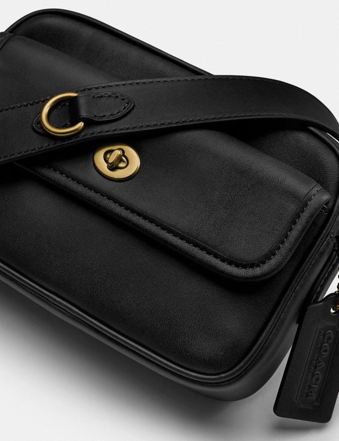 Coach Convertible Waist Pack Brass/Black New Women's New Arrivals Bags Alternate View 3
