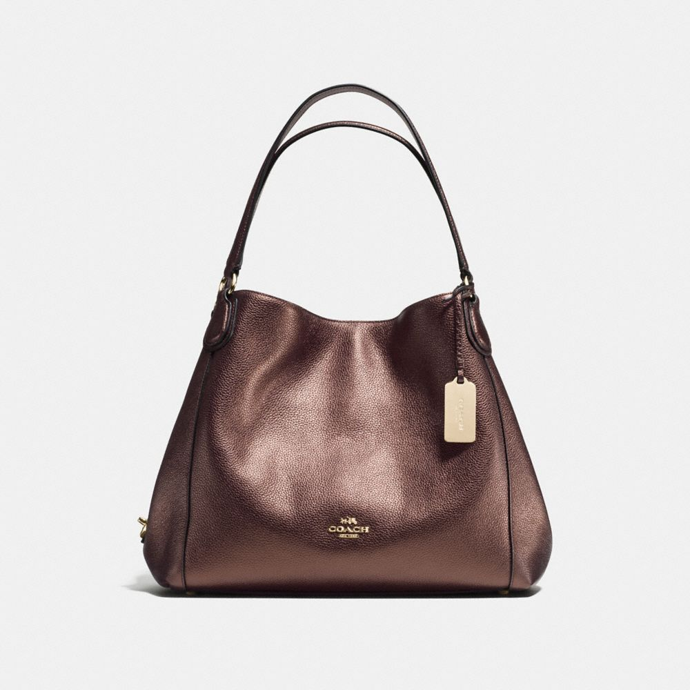 Edie Shoulder Bag 31 in Pebble Leather