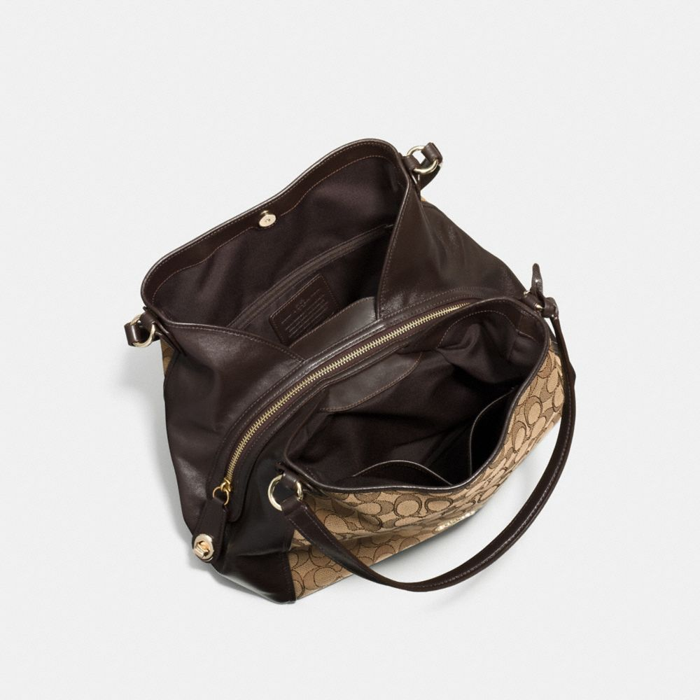 Edie Shoulder Bag 31 in Signature Jacquard - Alternate View A3