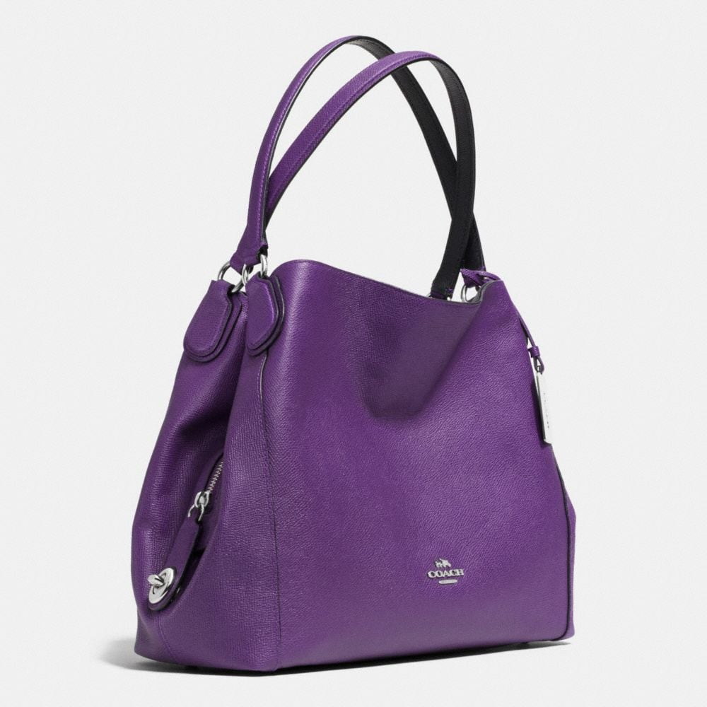 Edie 31 Shoulder Bag in Pebble Leather - Alternate View A2