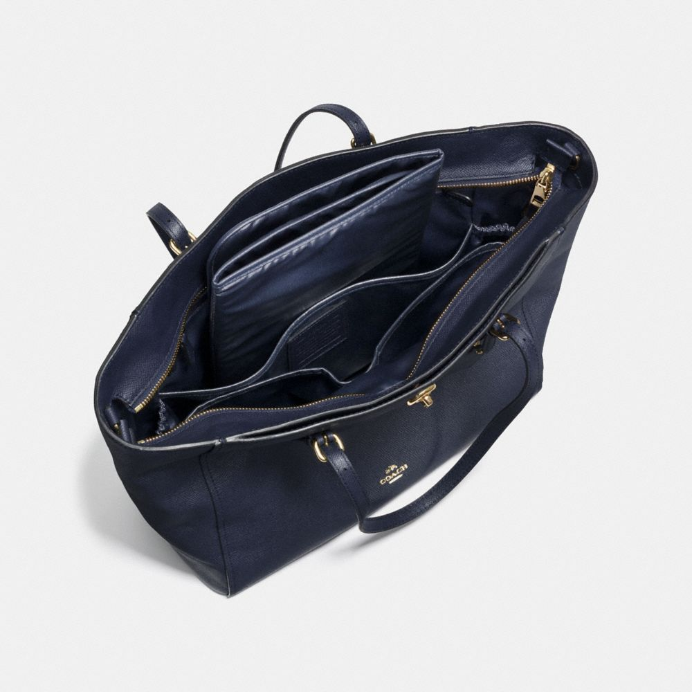 Turnlock Baby Bag in Crossgrain Leather - Autres affichages A3