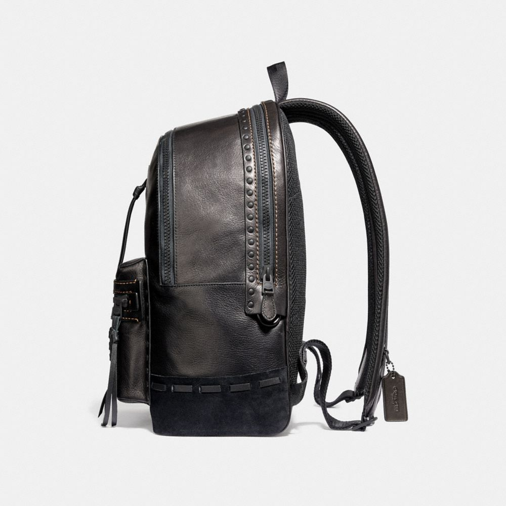 Coach Academy Backpack With Whipstitch Alternate View 1