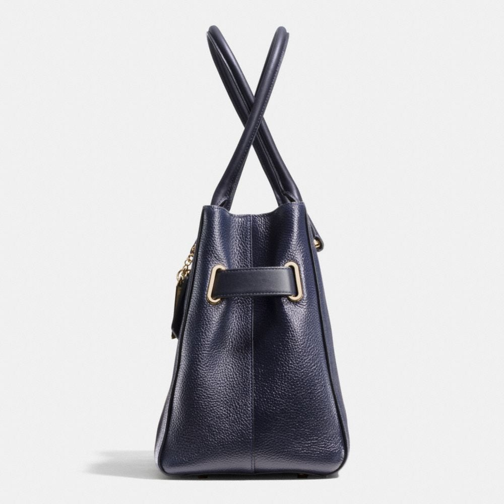 Coach Swagger Carryall in Polished Pebble Leather - Alternate View A1