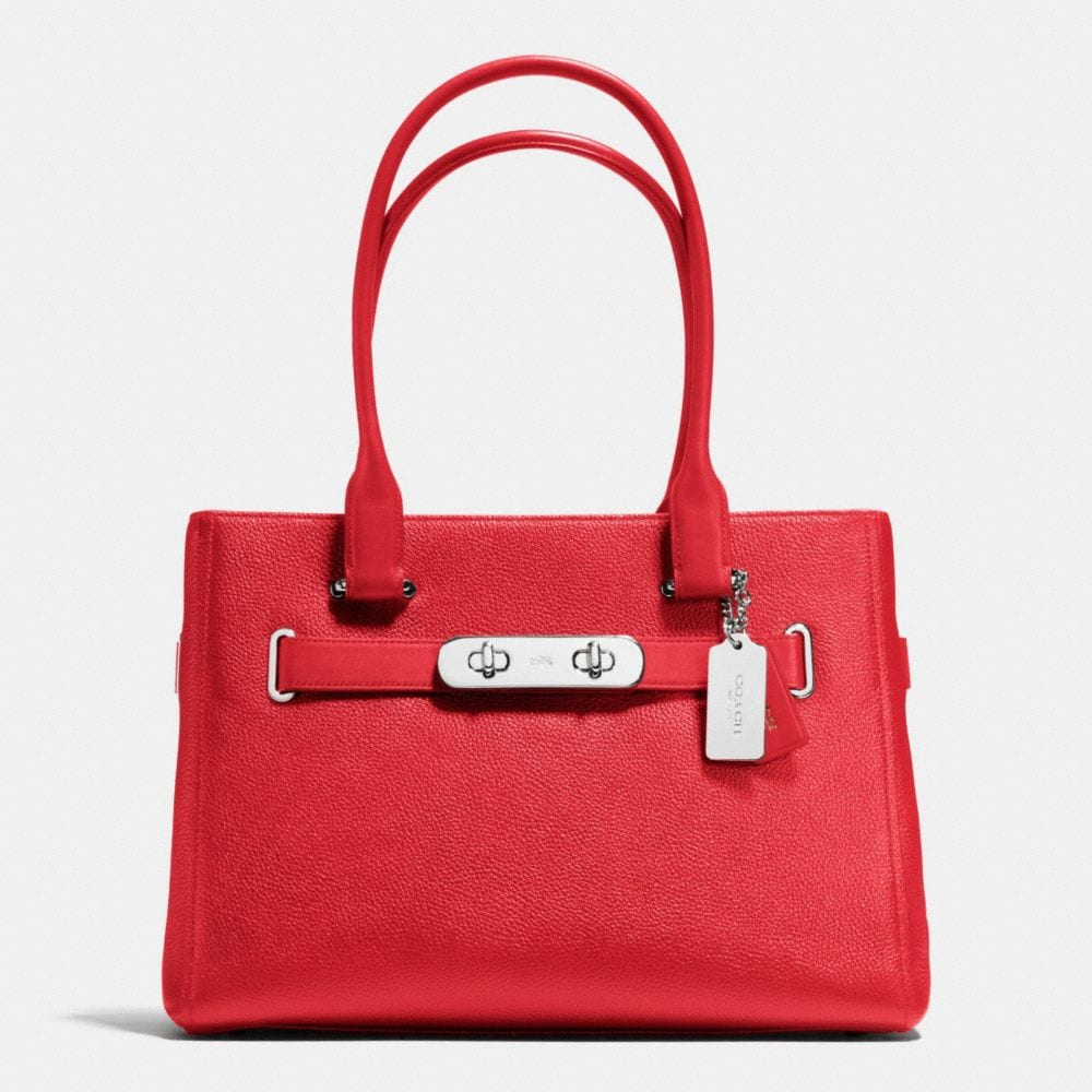 Coach Swagger Carryall in Polished Pebble Leather