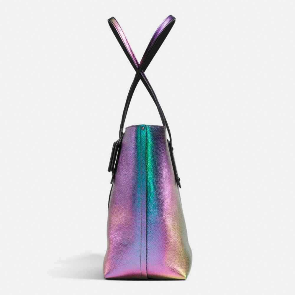 MARKET TOTE IN HOLOGRAM LEATHER - Autres affichages A1