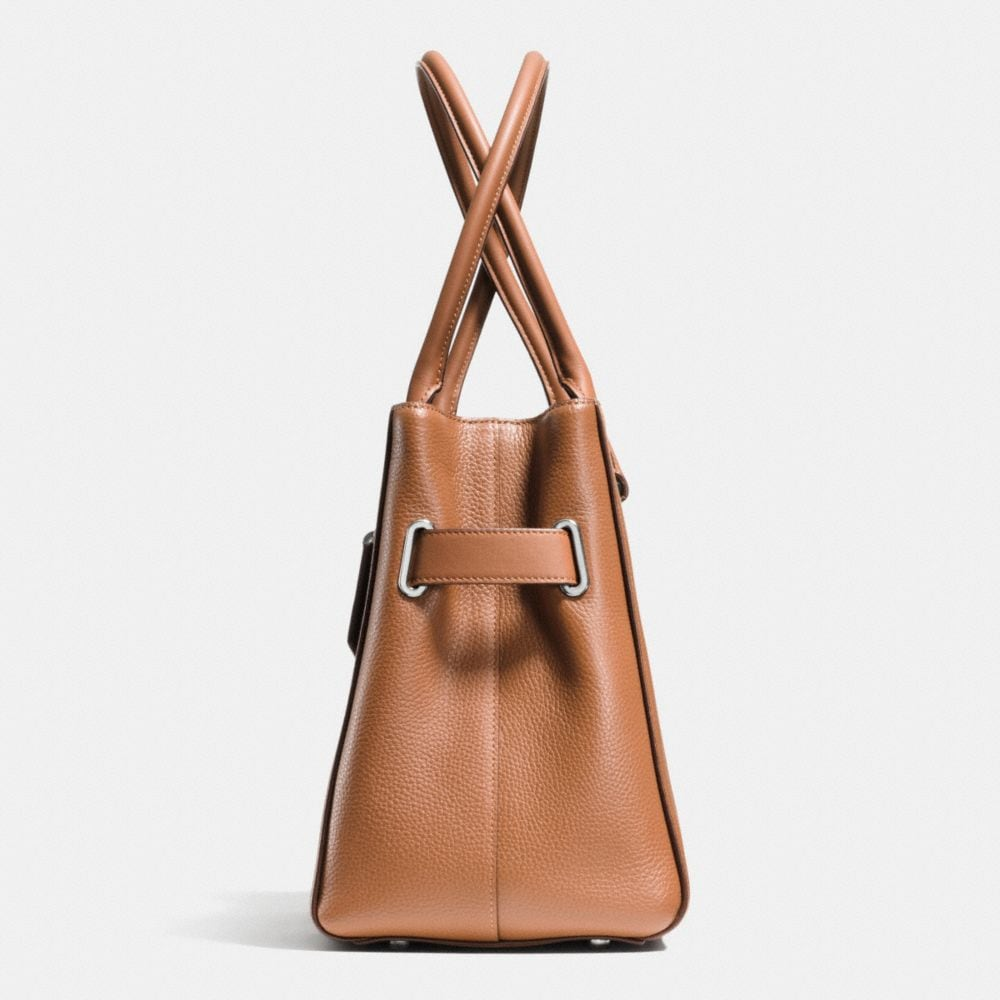Coach Swagger Carryall in Colorblock Pebble Leather - Autres affichages A1