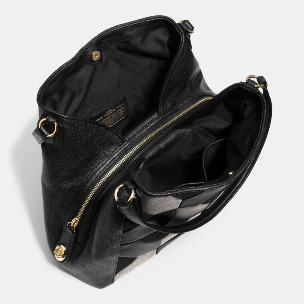 Edie Shoulder Bag 31 in Patchwork Leather - Alternate View A3