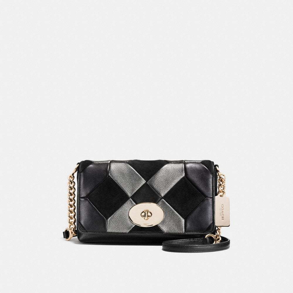 Crosstown Crossbody in Patchwork Leather