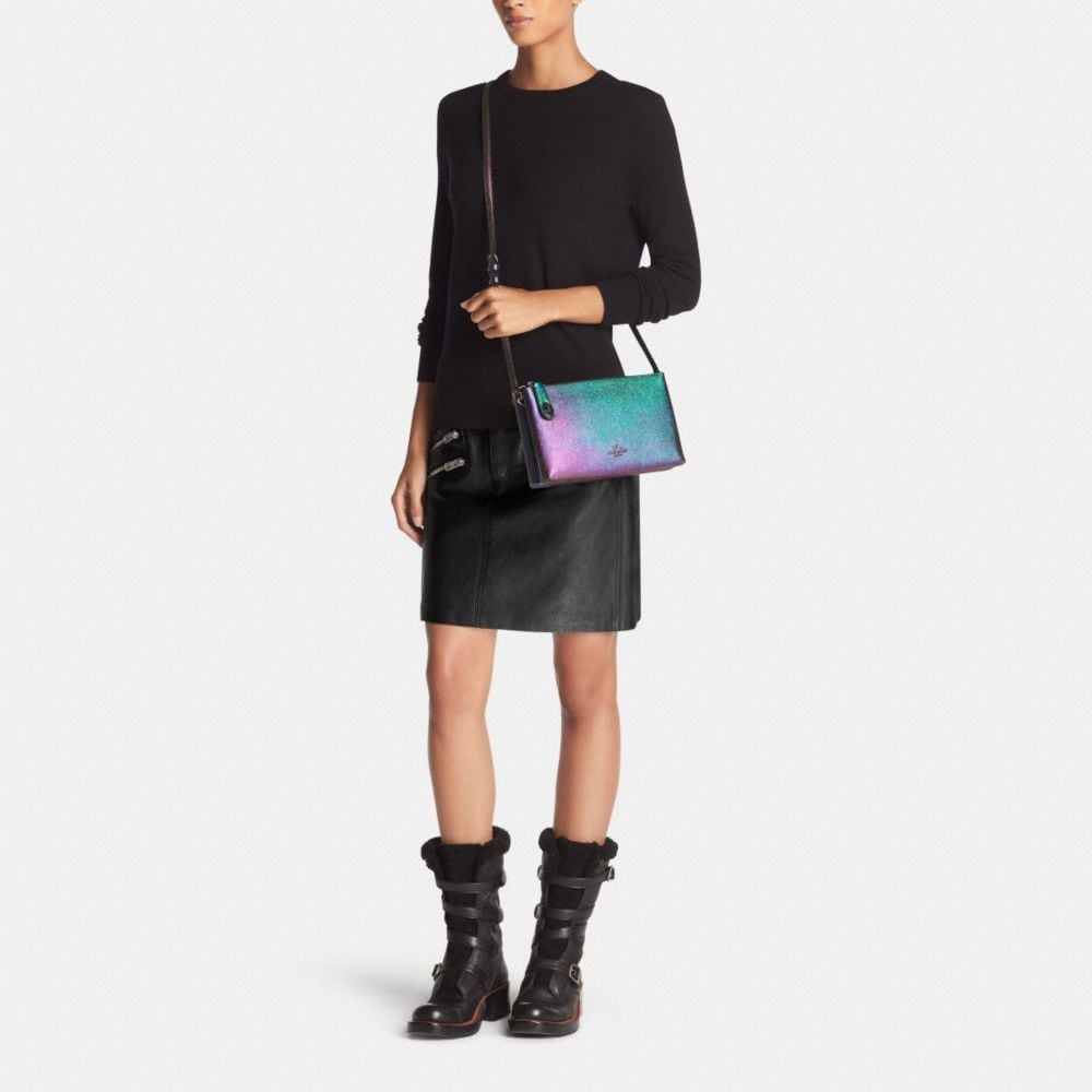 Crosby Crossbody in Hologram Leather - Alternate View M
