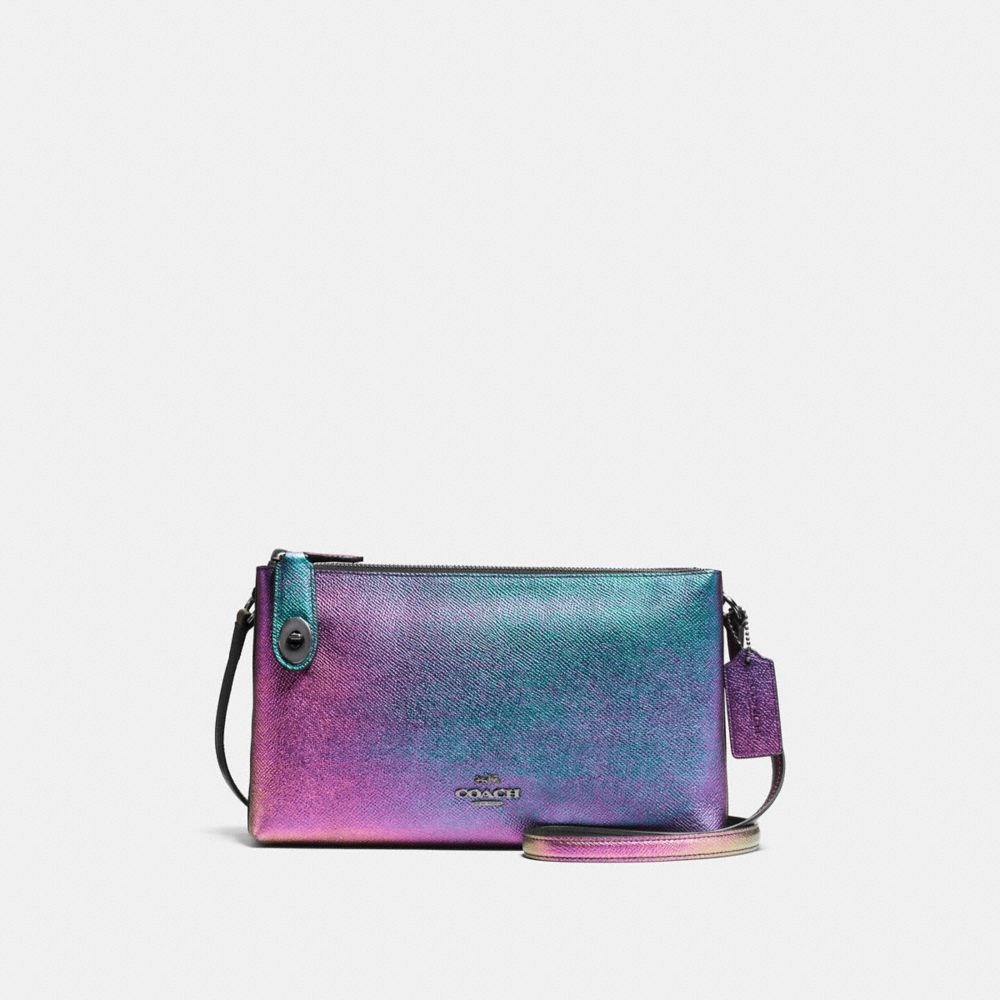 Crosby Crossbody in Hologram Leather