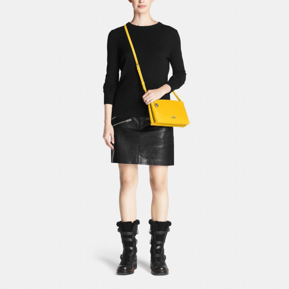 CROSBY CROSSBODY IN CALF LEATHER - Autres affichages M1