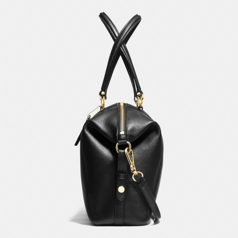Large Prairie Satchel in Pebble Leather - Alternate View A1