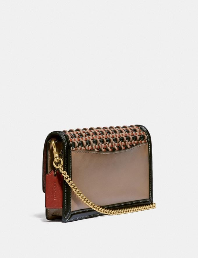 Coach Hutton Clutch With Weaving V5/Black Multi Women Collection Hutton Alternate View 1