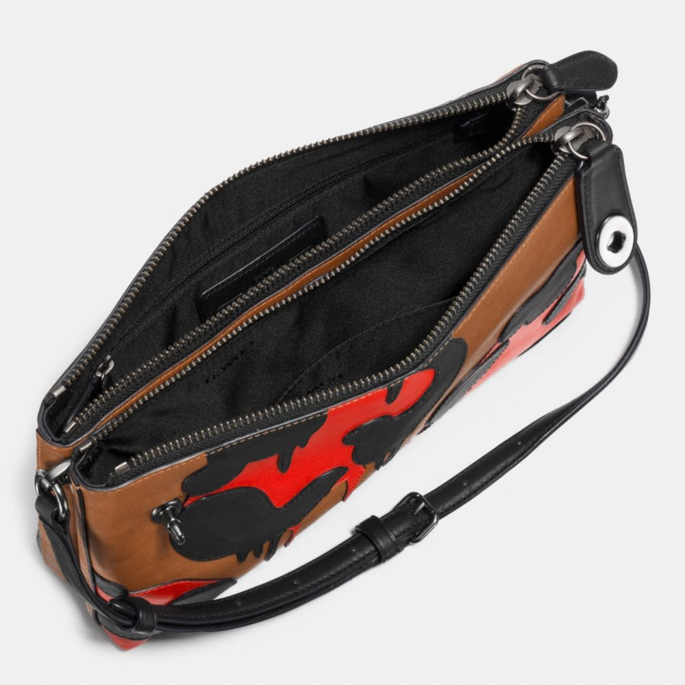 CROSBY CROSSBODY IN PIECED AND APPLIED CALF LEATHER - Alternate View A1