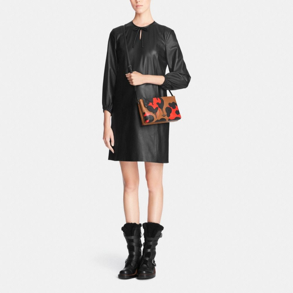 Crosby Crossbody in Pieced and Applied Calf Leather - Alternate View M