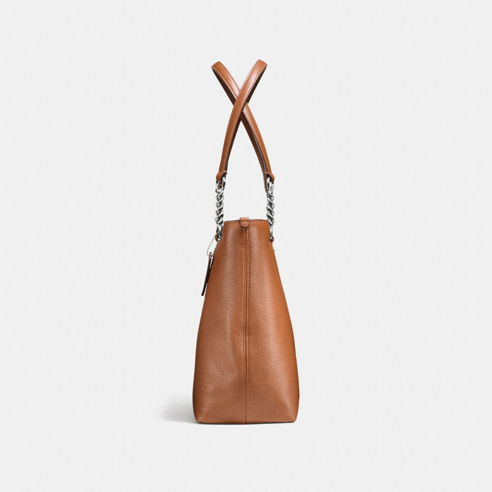 Sophia Tote in Pebble Leather - Alternate View A1