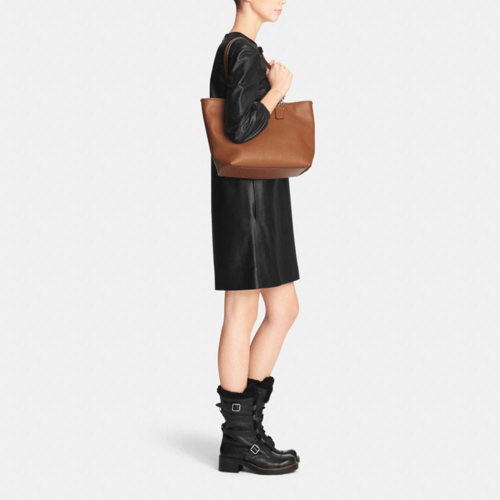 Sophia Tote in Pebble Leather - Alternate View M