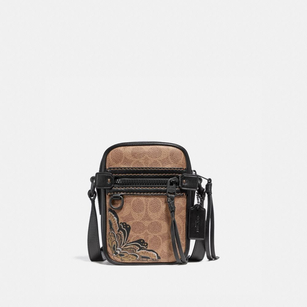 Coach Dylan 10 in Signature Canvas With Tattoo