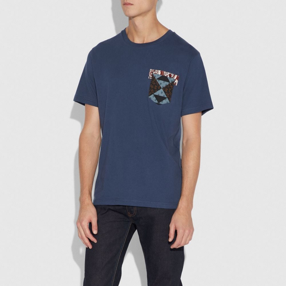 Coach Patchwork Bandana T-Shirt Alternate View 1