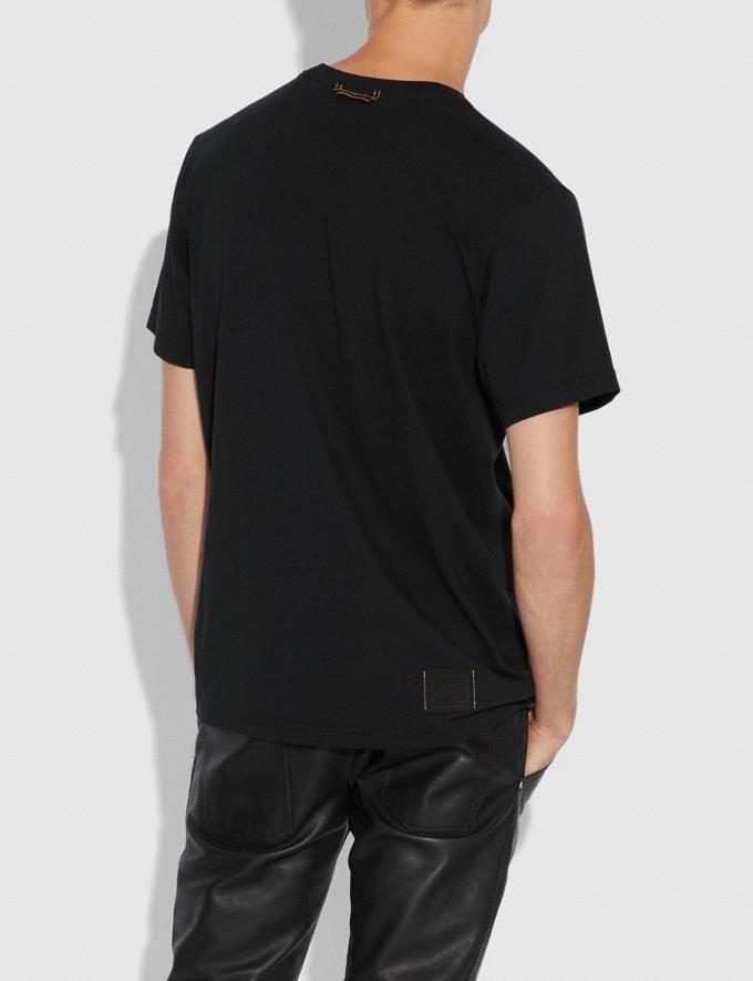 Coach Tattoo T-Shirt Black  Alternate View 2