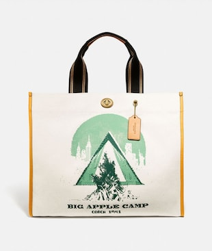 BORSA TOTE 40 CON STAMPA BIG APPLE CAMP